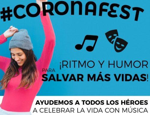 Gran éxito festival benéfico #Coronafest