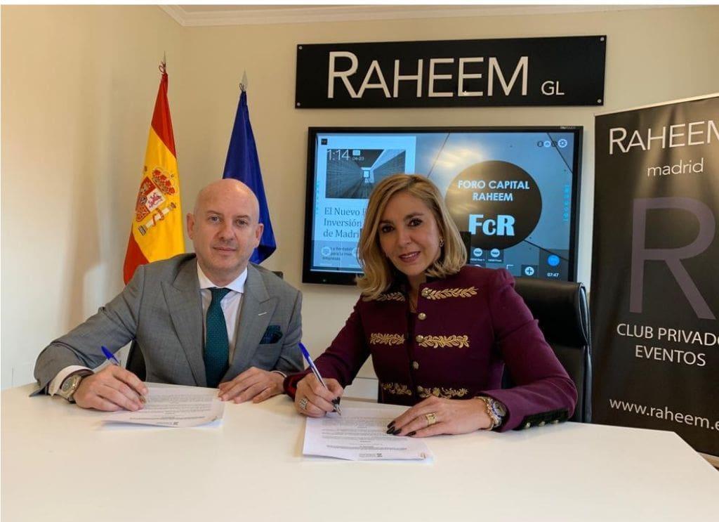 Fundación Zaballos firma acuerdo de colaboración con Club Raheem GL