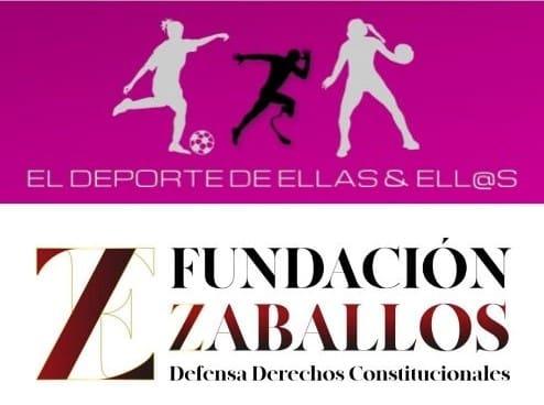 Fundación Zaballos y la Asociación El Deporte de Ellas y Ellos firman acuerdo de colaboración.