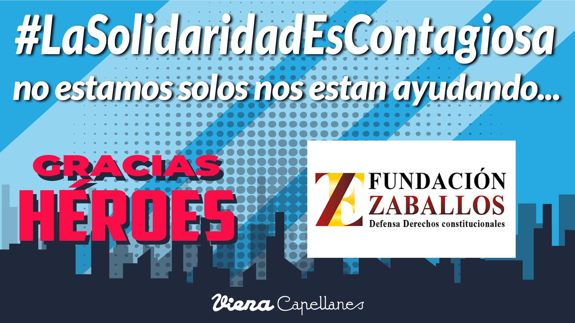 #LaSolidaridadContagiosa, acciones de solidaridad.