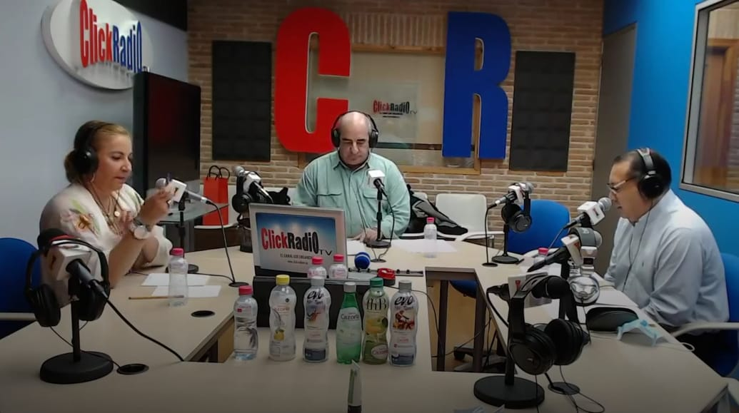 Emilia Zaballos en Click Radio, 18 Sept 2020