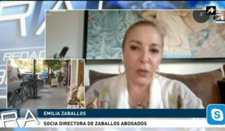 Emilia Zaballos en Intereconomía TV. 19 Sept. 2020