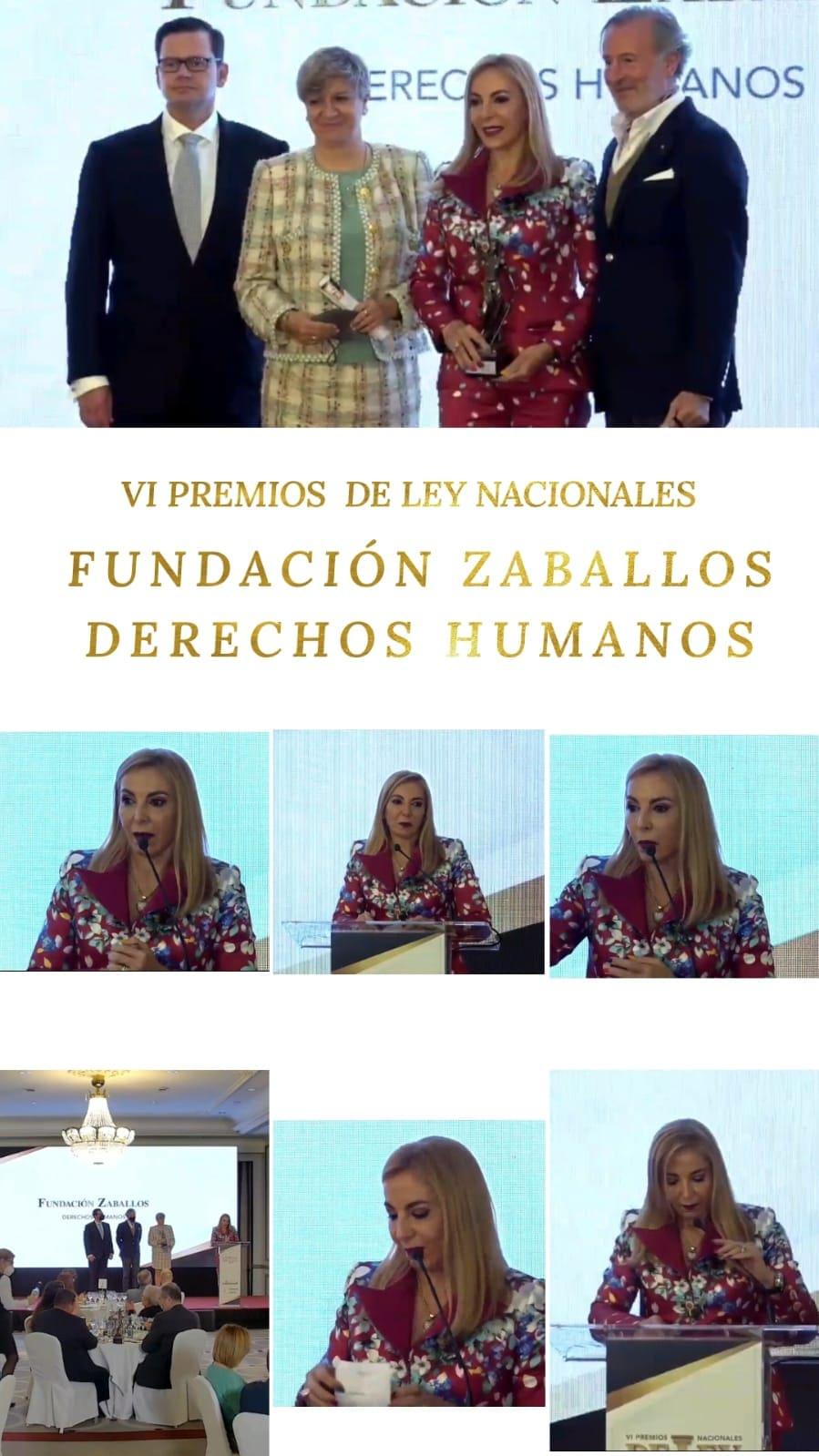 Fundación Zaballos, galardonada en VI Edición Premios Nacionales De Ley